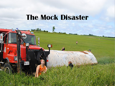 The Mock Disaster